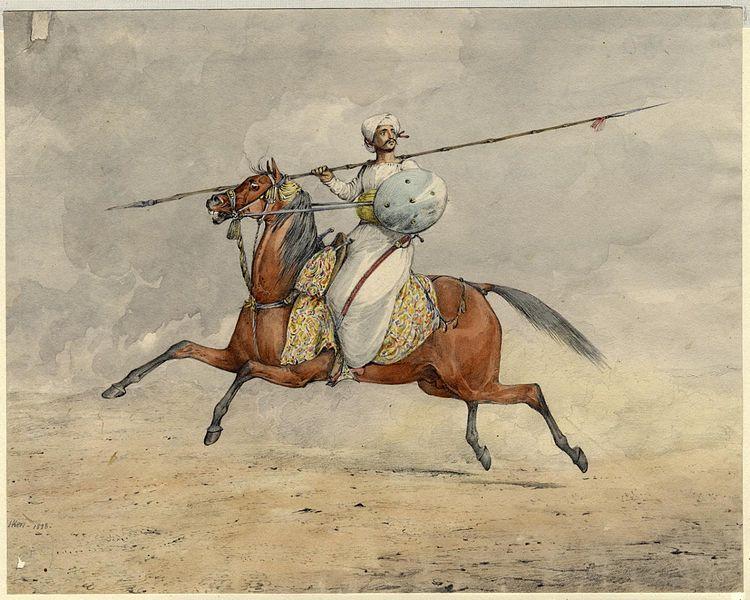 750px-Mahratta_Light_Horseman 2nd chapter