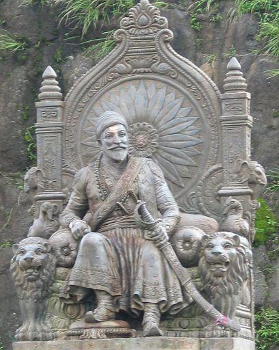 Shivaji at Raigad
